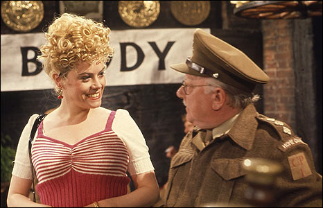 Wendy Richard in Dad's Army, 1973