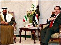 وزيرا الخارجية الكويتي والعراقي