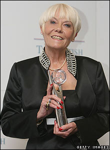Wendy Richard at the British Soap Awards in 2007