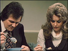 Trevor Bannister and Wendy Richard