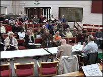 Pensioners meeting