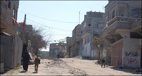 Street scene in Jabaliya