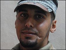 Gazan youth Jihad al-Ajramy, 24
