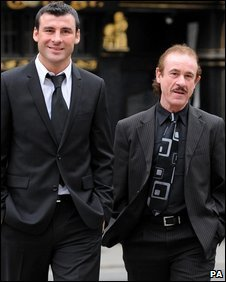Joe and Enzo Calzaghe