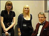 Stephanie Merrix, Sasha Tuck and Andrew Jeffrey
