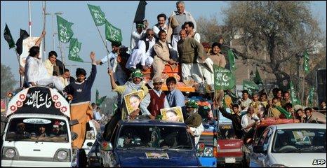 Protest in Peshawar