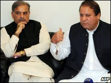 Shahbaz and Nawaz Sharif