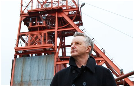 Billy Bragg at Big Pit Blaenavon