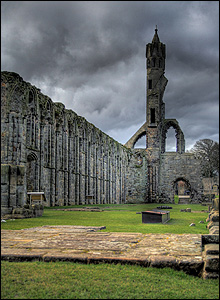 Cathedral ruins at St Andrews