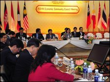 Asean talks in Thailand