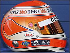 Nelson Piquet's 2009 helmet
