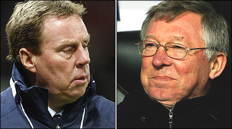 Harry Redknapp and Sir Alex Ferguson