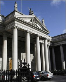Bank of Ireland in Dublin city centre