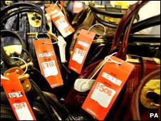 Luxury handbags on sale