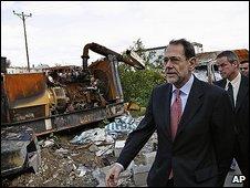 Javier Solana in Gaza