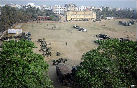 Bangladesh Army camp