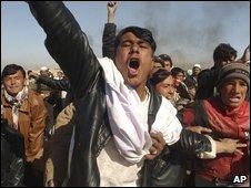 Protests in Ghazni