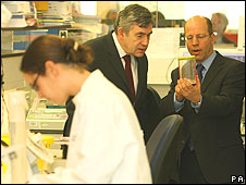 Gordon Brown science lesson