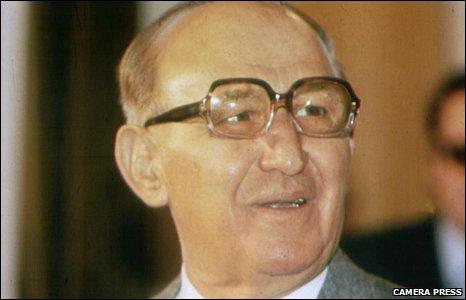 Bulgaria's former Communist leader Todor Zhivkov