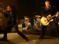 Bono and Adam Clayton from U2