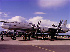 Russian Tu-95 Bear bomber - file photo