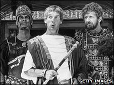 (L-R) John Cleese, Michael Palin and Graham Chapman