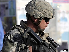 US soldier in Iraq (file picture)