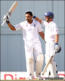 Ravi Bopara and Tim Ambrose