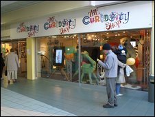 The Curiousity Shop museum