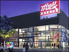 Artist's impression of new Hull Truck Theatre