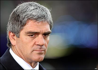 Italy coach Nick Mallett