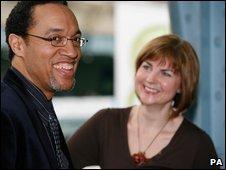 Chris Haley and June Baff-Black