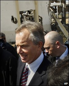 Tony Blair in Gaza