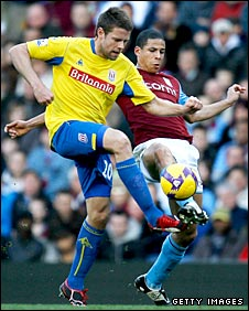 James Beattie and Curtis Davies