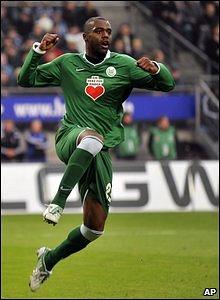 Wolfsburg striker Grafite
