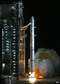 A Long March rocket launch (file photo)