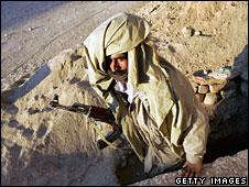 A Baloch guerrilla