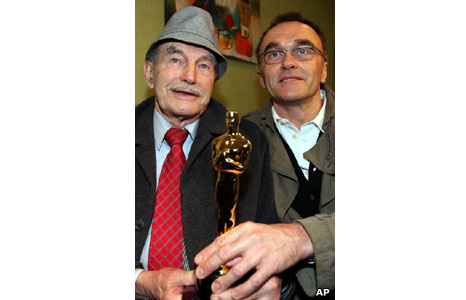 Danny Boyle and his father Frank