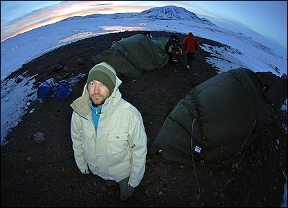 Ed and the crew camp out in Iceland