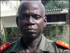 File photo of Gen Tagme Na Waie, chief of staff of Guinea-Bissau's armed forces, who was killed on Sunday