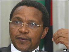 File pic of President Jakaya Kikwete