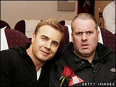 Gary Barlow and Chris Moyles