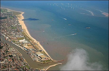 Great Yarmouth's outer harbour (Photo: Michael Page)