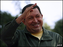 Hugo Chavez in February 2009