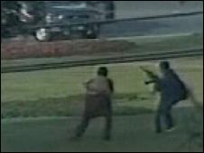 Grab of gunmen in Lahore