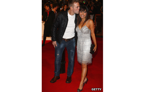 Donal MacIntyre and Roxanne Pallett
