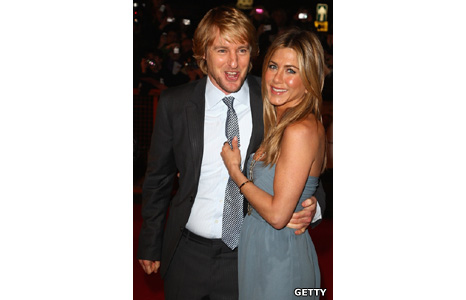 Jennifer Aniston and Owen Wilson