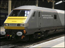 Wrexham train
