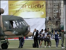 Gun attack on Sri Lankan cricketers