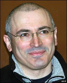 Mikhail Khodorkovsky inside Khamovnichesky district court (3 March 2009)